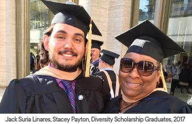 Diversity Scholarship Graduates, CUNY SLU