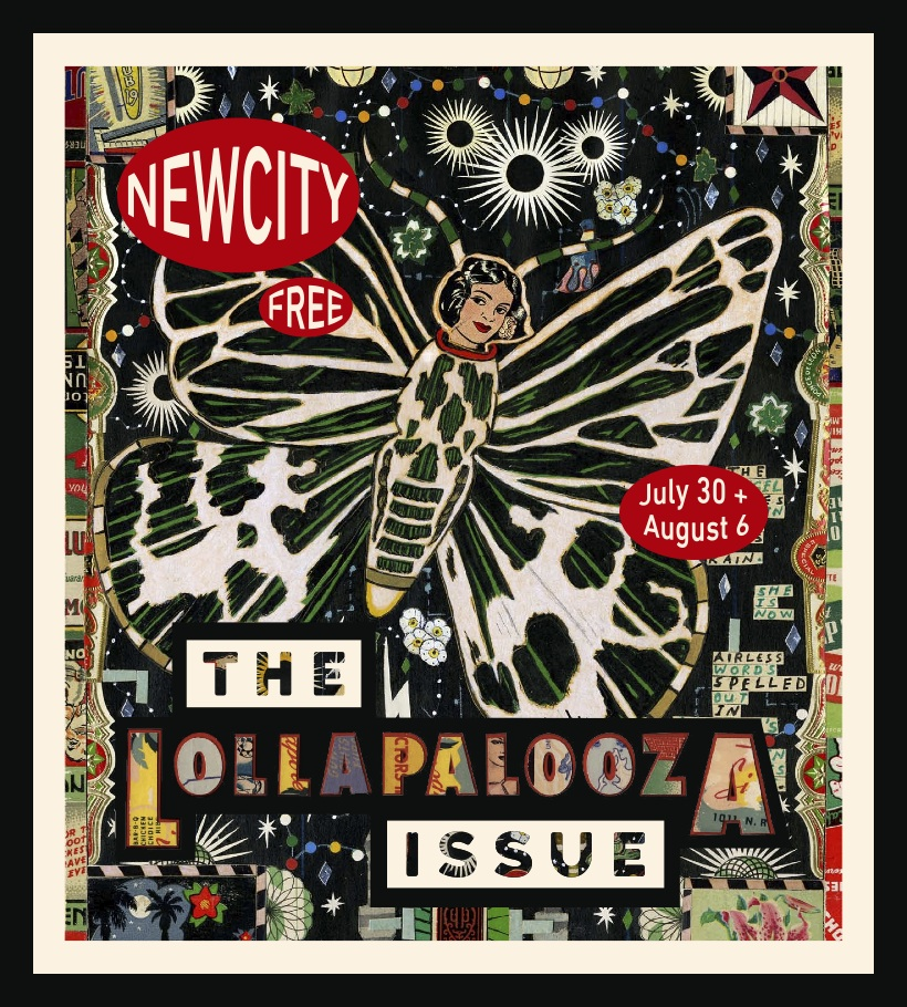 Tony's Lollapalooza Issue Cover