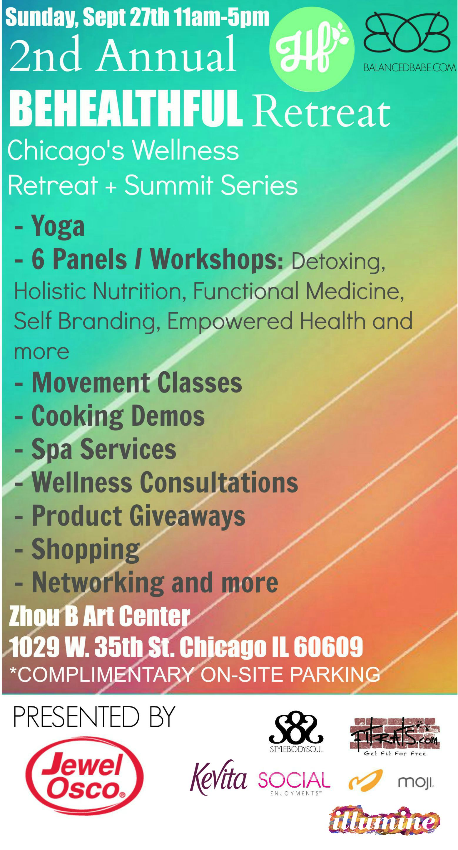 behealthful retreat chicago yoga