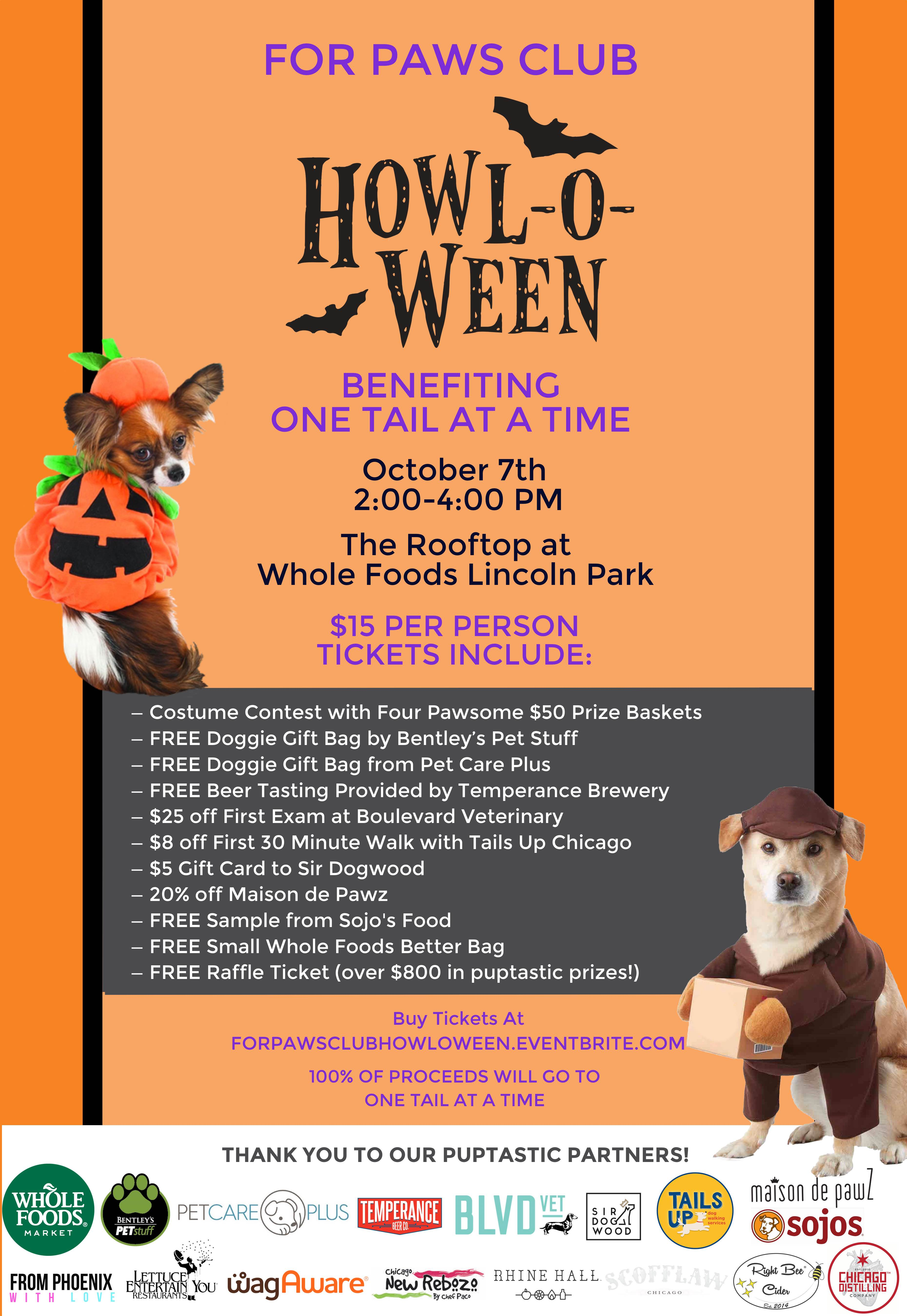 Howl-o-ween Pawty!