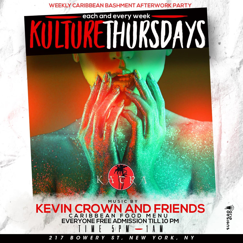 Kulture Thursdays The Caribbean Afterwork Experience Happy Hour