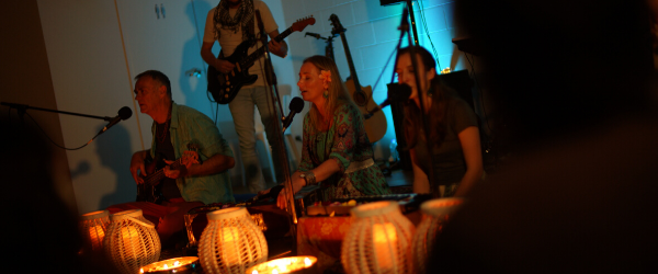 special candlelight kirtan celebration