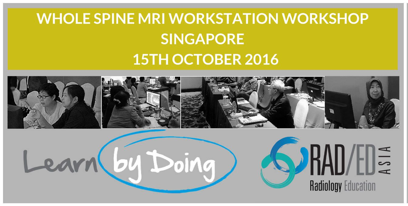radiology conference singapore mri spine asia