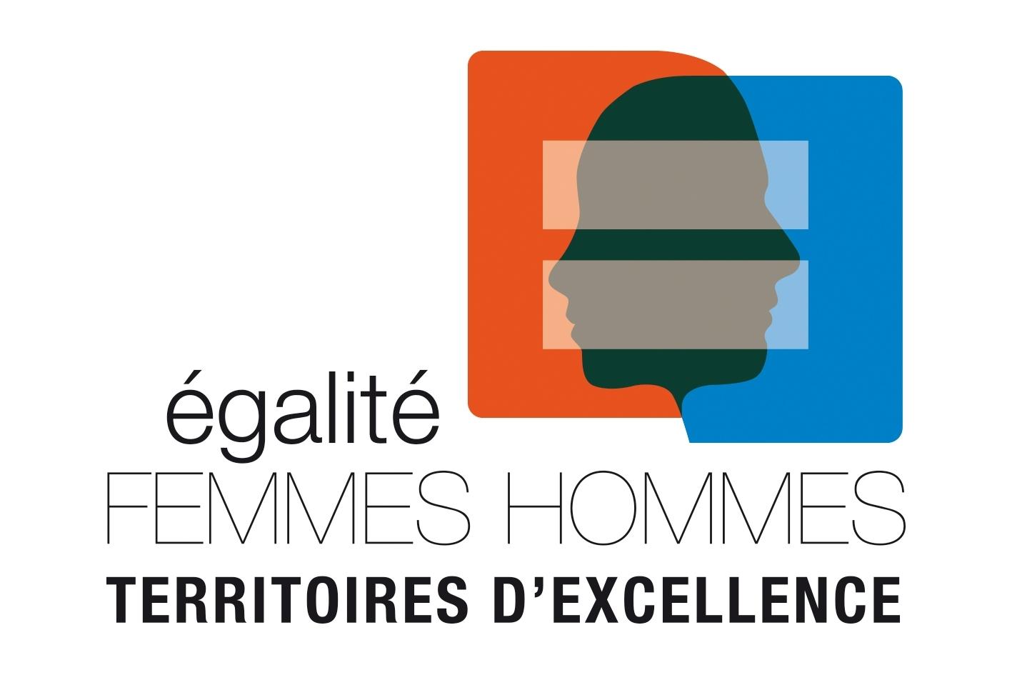 Logo Territoires d'excellence pour l'égalité professionnelle