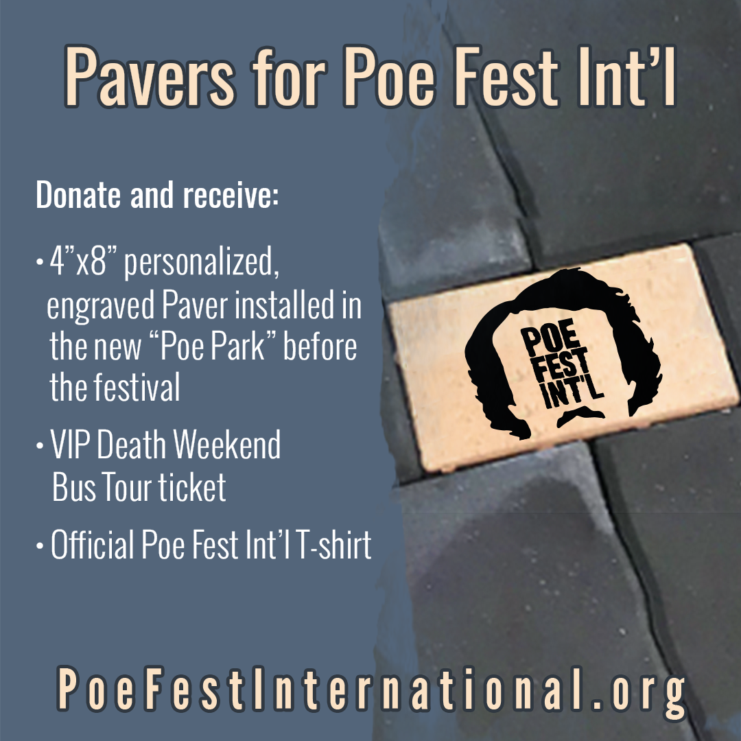 Donate a Paver for Poe Fest Int'l