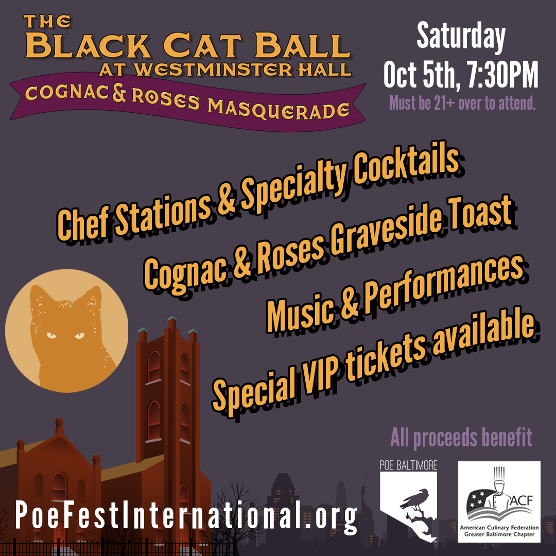 Black Cat Ball at Westminster Hall: Oct 5, 2019