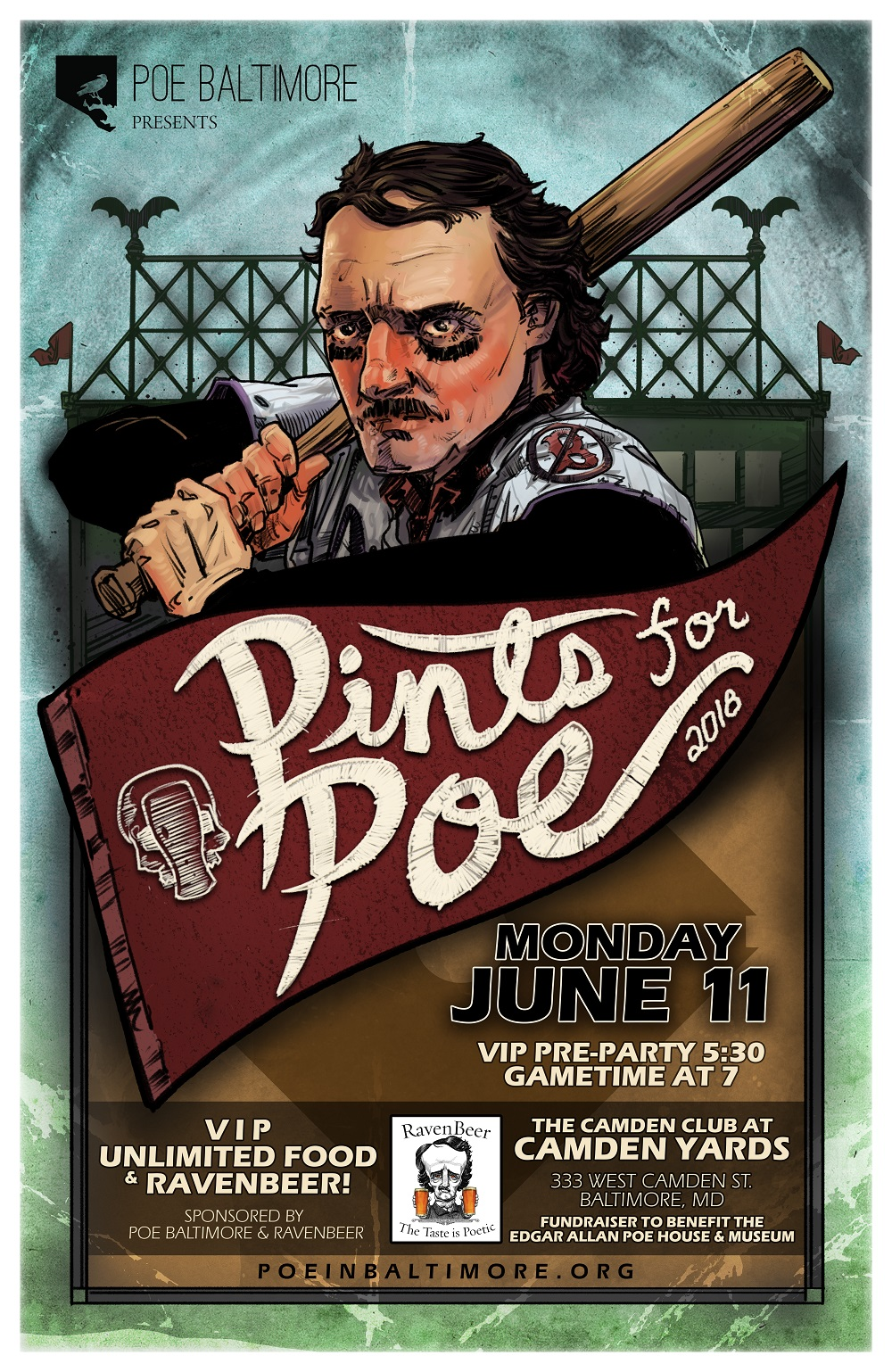 Pints for Poe poster image