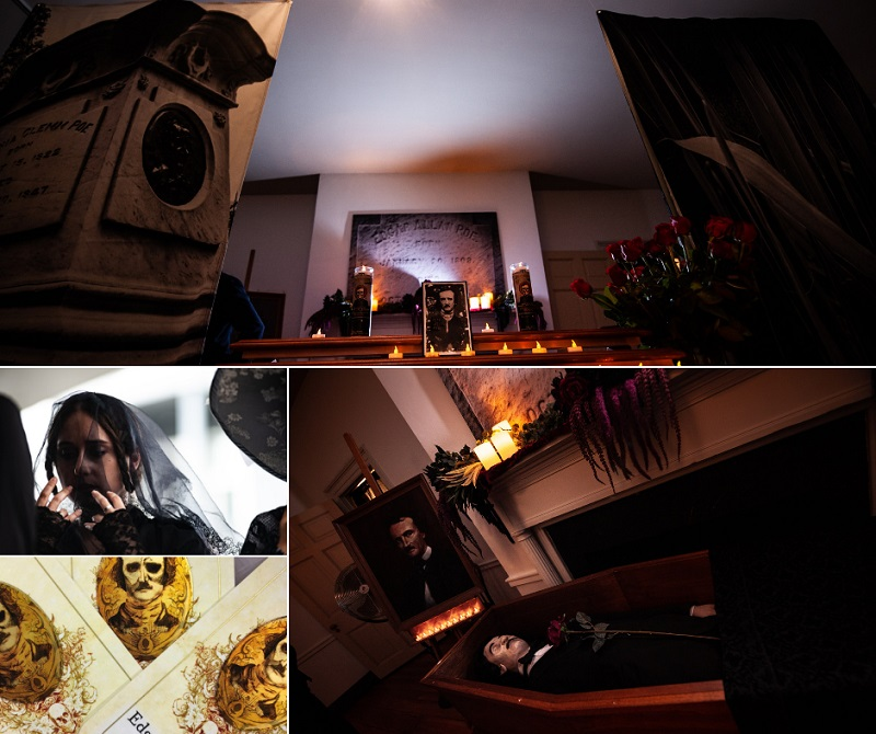 Poe Death Tour and Funeral Re-enactment at Carroll Mansion