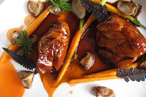 Laquered Carrots