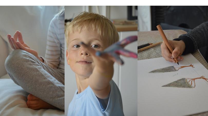 La Carabane, ateliers qui allient philo & graphisme, pour les enfants dès l'âge de 5 ans.