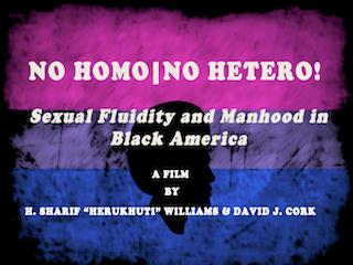No Homo | No Hetero Documentary Film Title Page