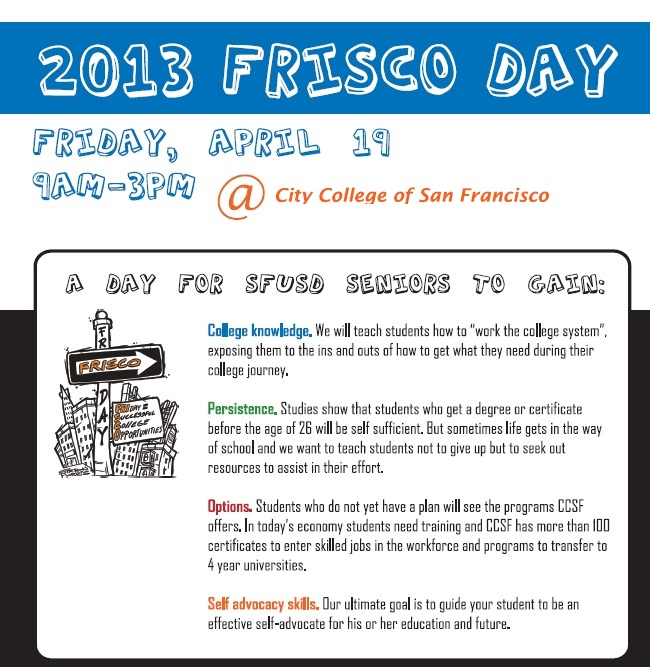 FRISCO Day Flyer - CCSF
