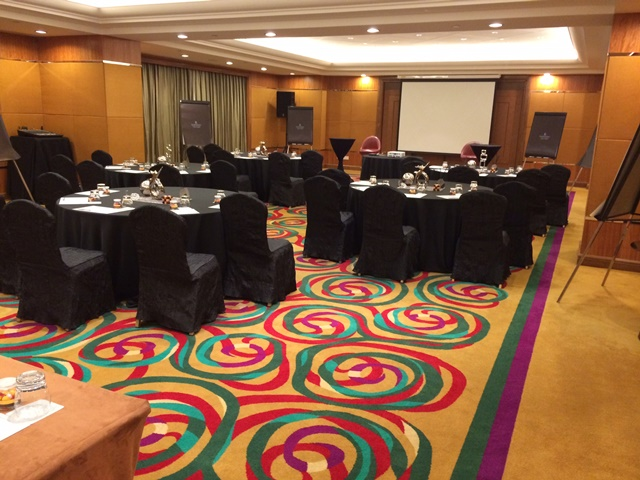 Workshop location at Renaissance Pudong Shanghai Hotel