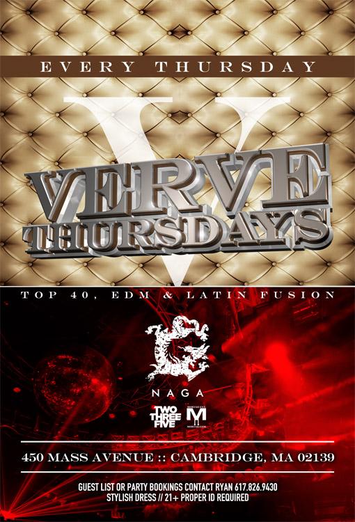 Verve Thursdays