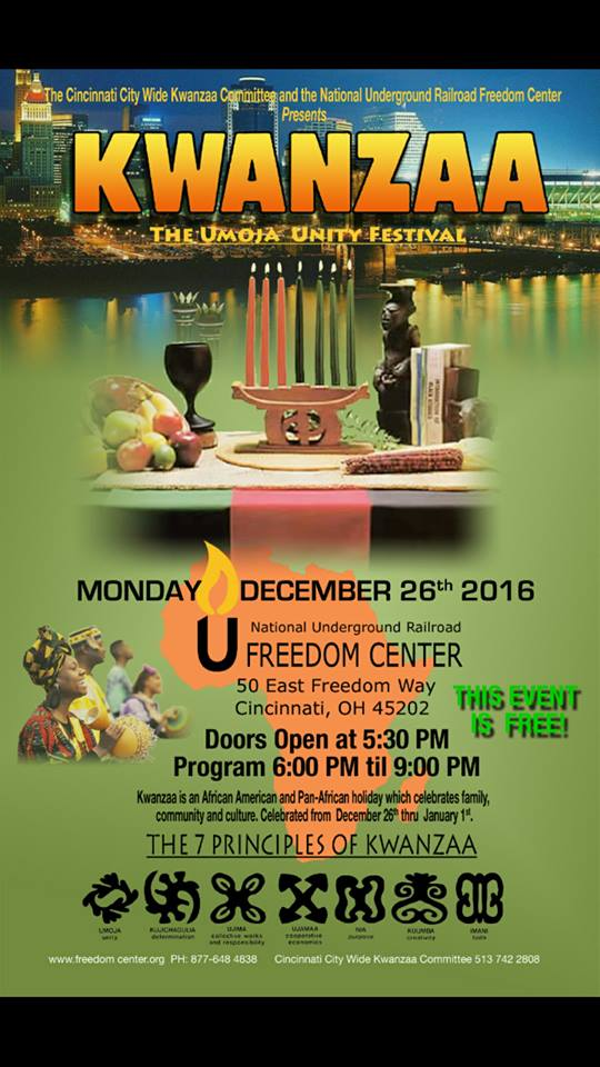 Kwanzaa Celebration in Cincinnati 2016