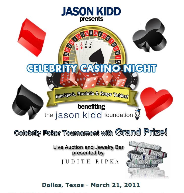Jason Kidd Foundation Celebrity Casino Night