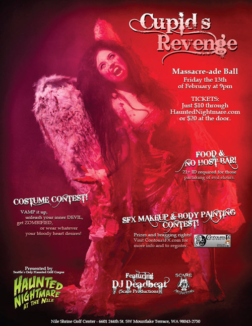 Cupid's Revenge Event Poster