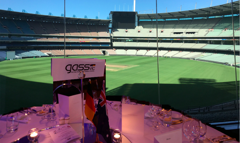GASS table at the SAGSE 50th Anniversary Gala event at the Melbourne Cricket Ground