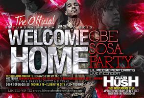 THE OFFICIAL WELCOME HOME SOSA PARTY |LIL REESE LIVE @CLUB...