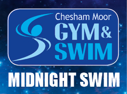 Midnight Swim Chesham outdoor pool
