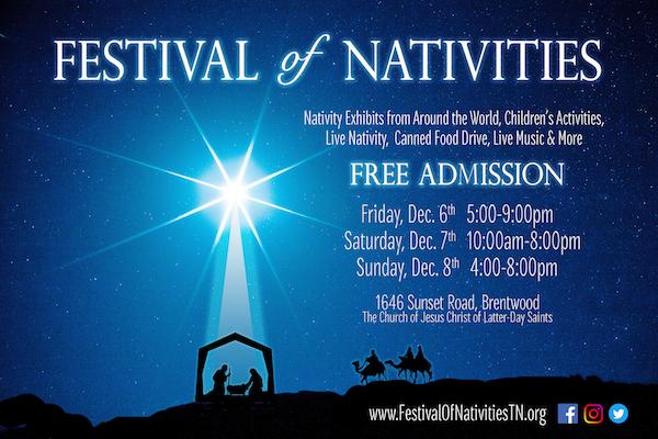 Festival of Nativities Poster