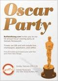 Buffalo Rising Oscar Party @ Sample Restaurant