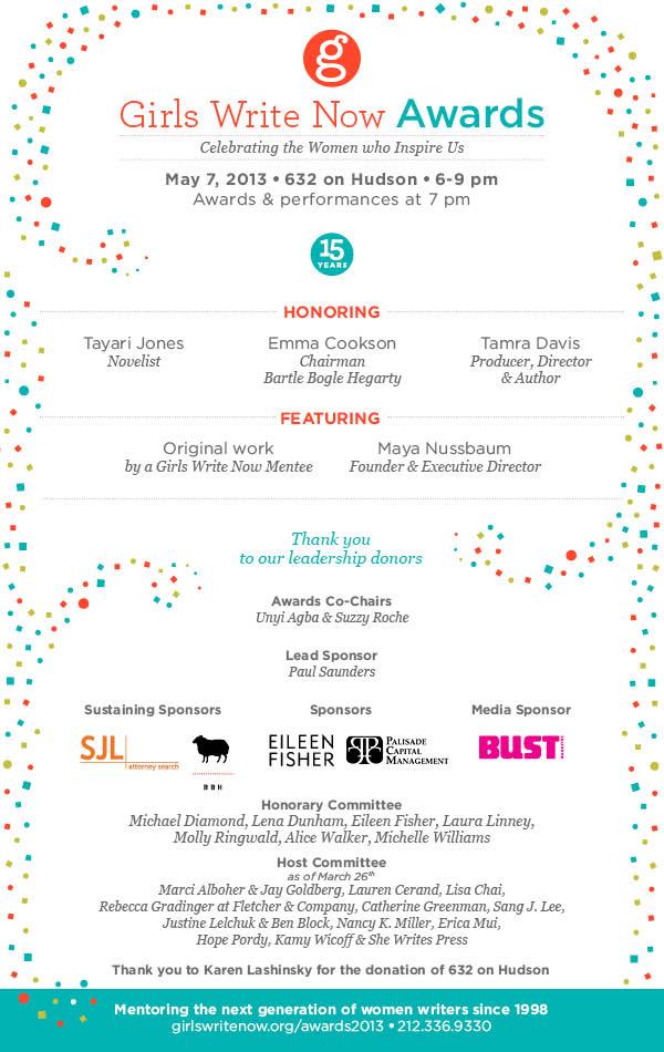 GWN Awards 2013 Invite