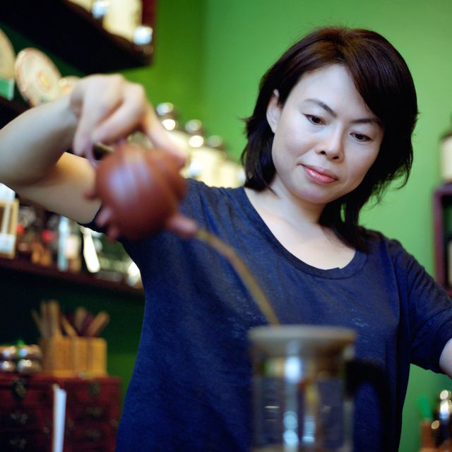 Tea Master Olivia Chan