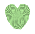 thumbprint heart