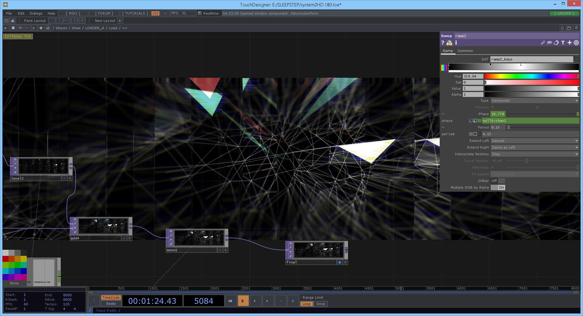 SOP on GPU - Geometry Shaders in TouchDesigner - 17 OCT 2018