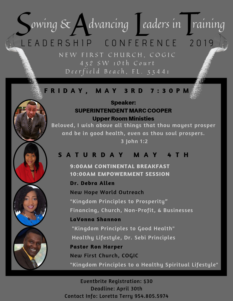 Cogic Leadership Conference 2019