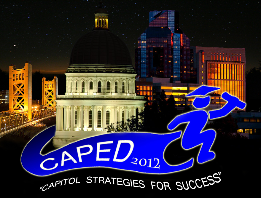 California State Capital with CAPED Convention Logo