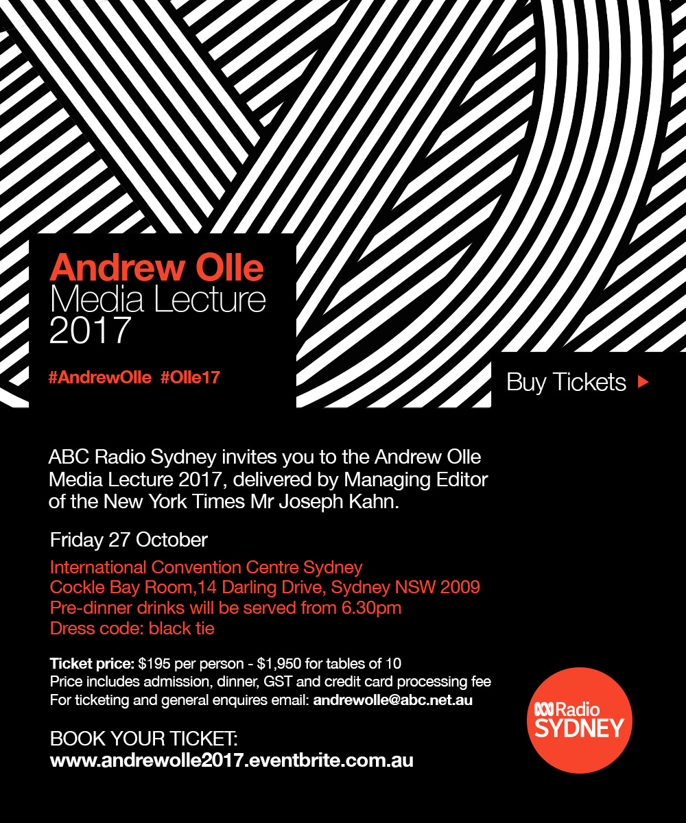 Andrew Olle Media Lecture 2017 eInvite
