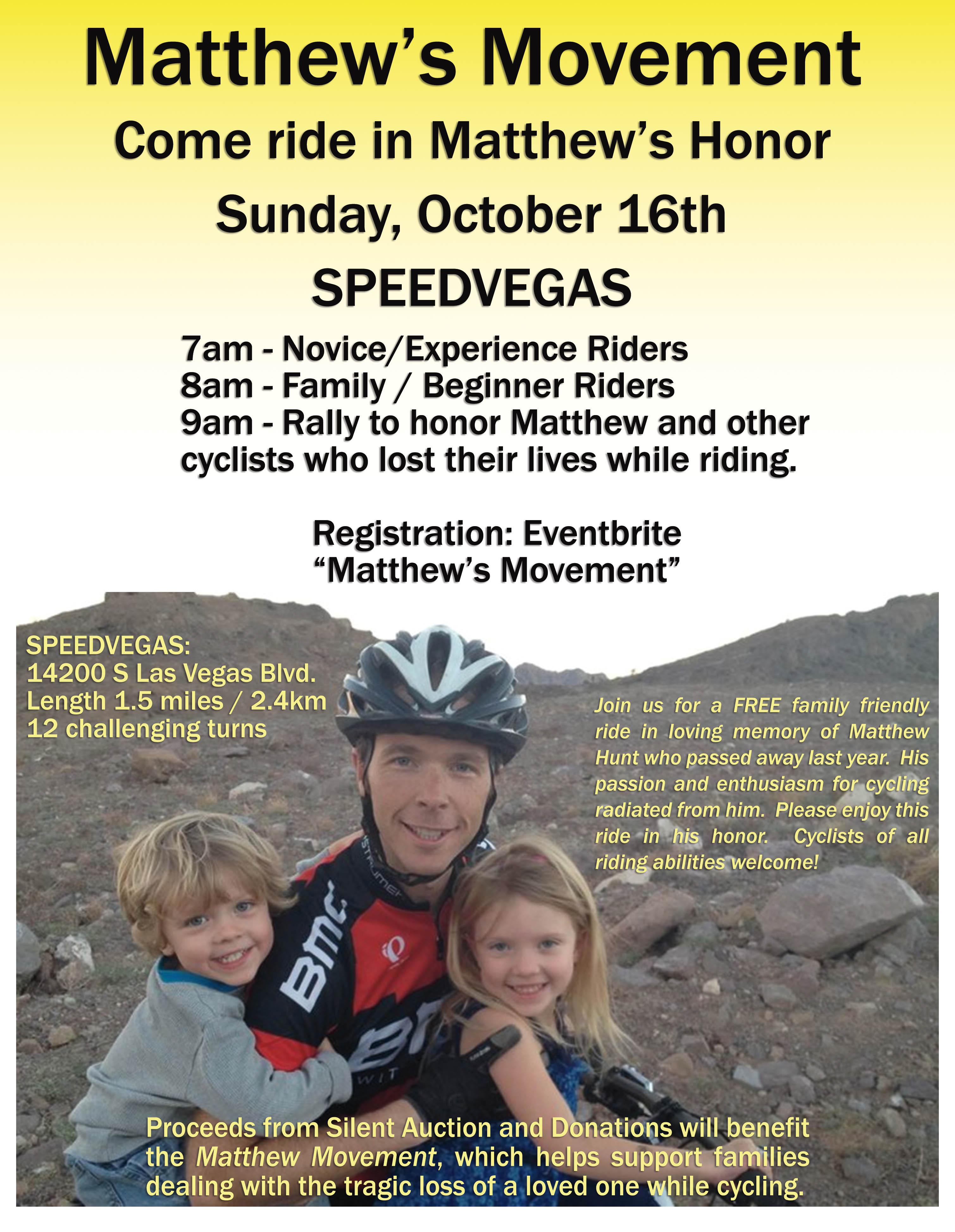 Matthew's Movement Flyer