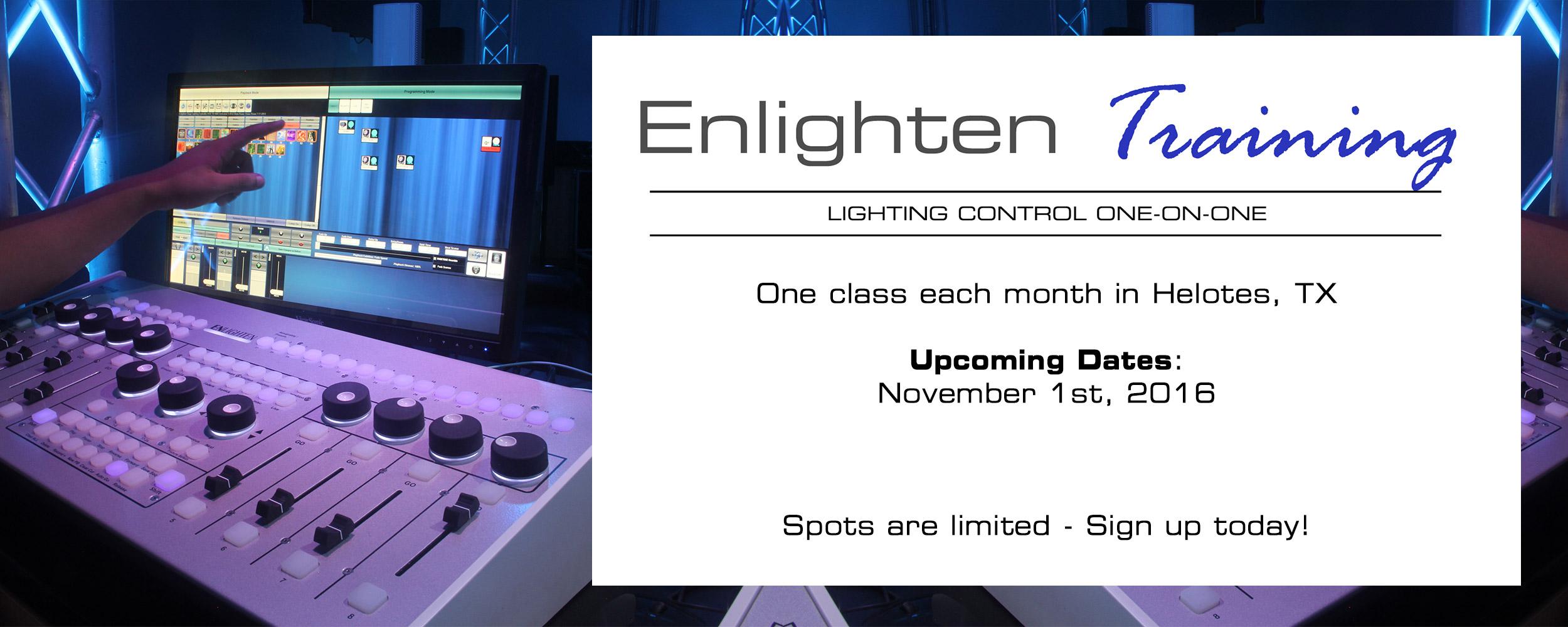 November Enlighten Training
