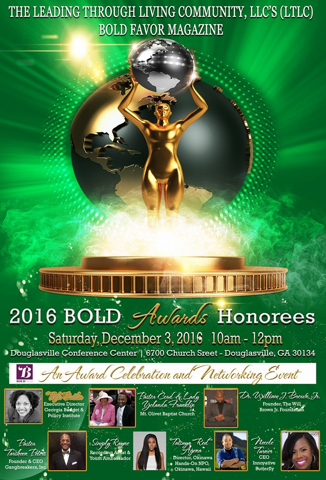 BOLD Awards 2016