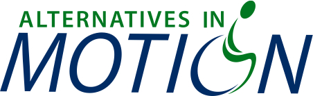 Alternatives in Motion Logo