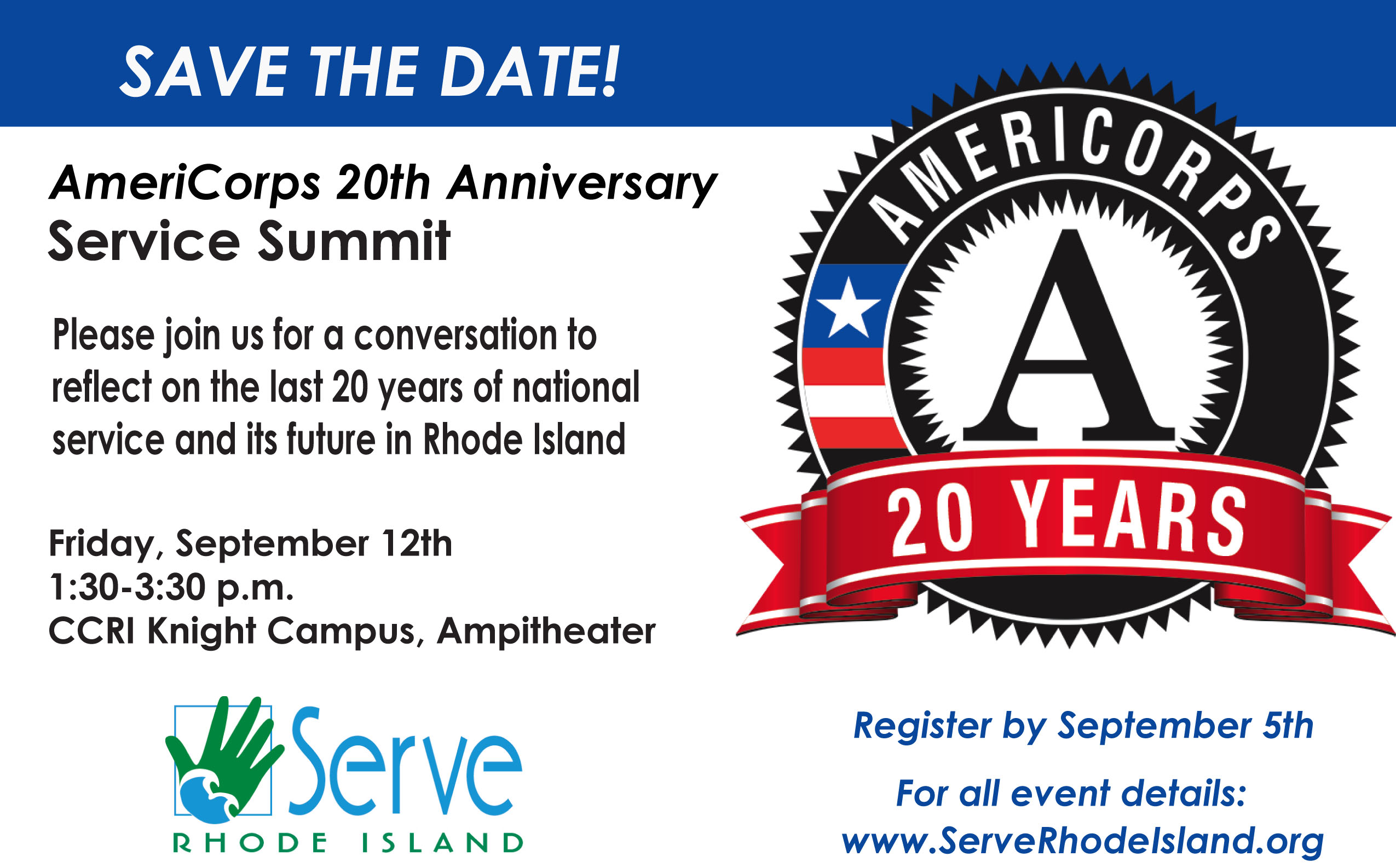 Service Summit Save the Date