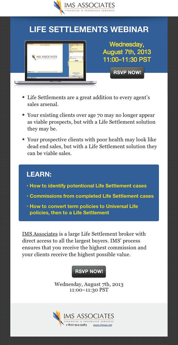 Life Settlements Webinar