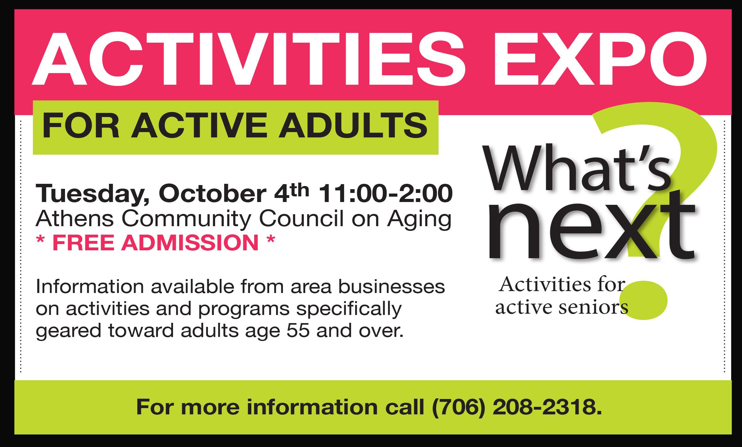 active adult comunity athens ga