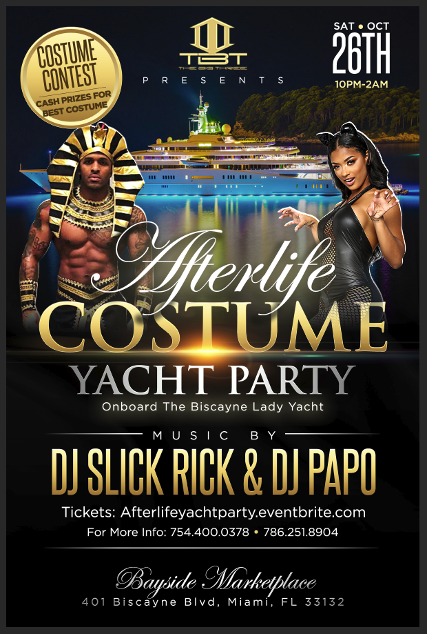 Holloween Yacht Party