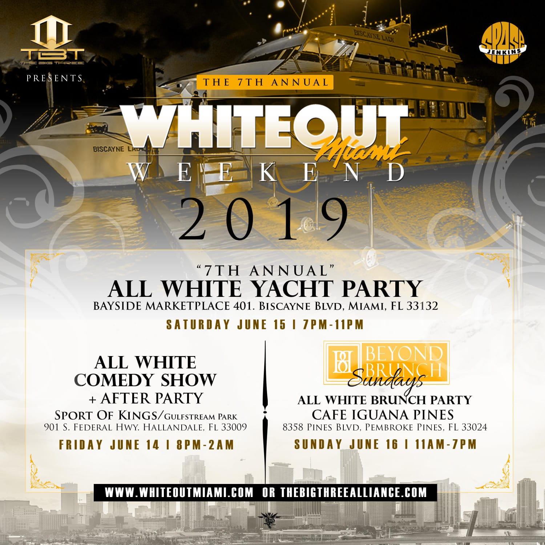 WhiteOut Miami Weekend