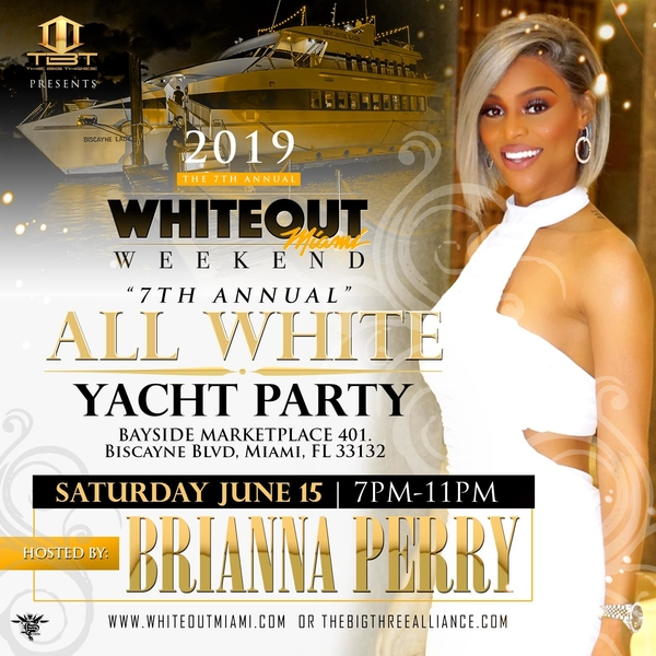 WhiteOut Miami Weekend - Brianna Perry