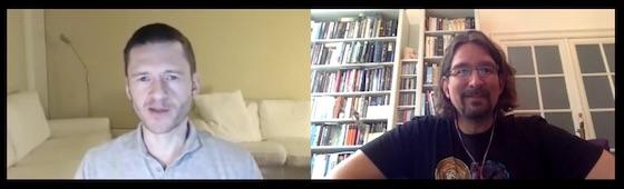 YouTube: Adam and Olaf talk Self-Organisation