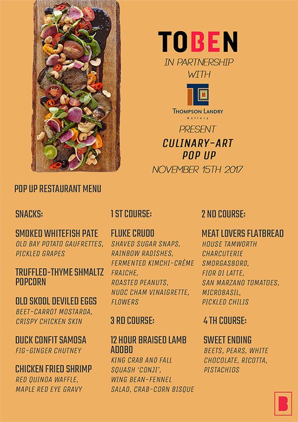 Toben Pop Up Menu