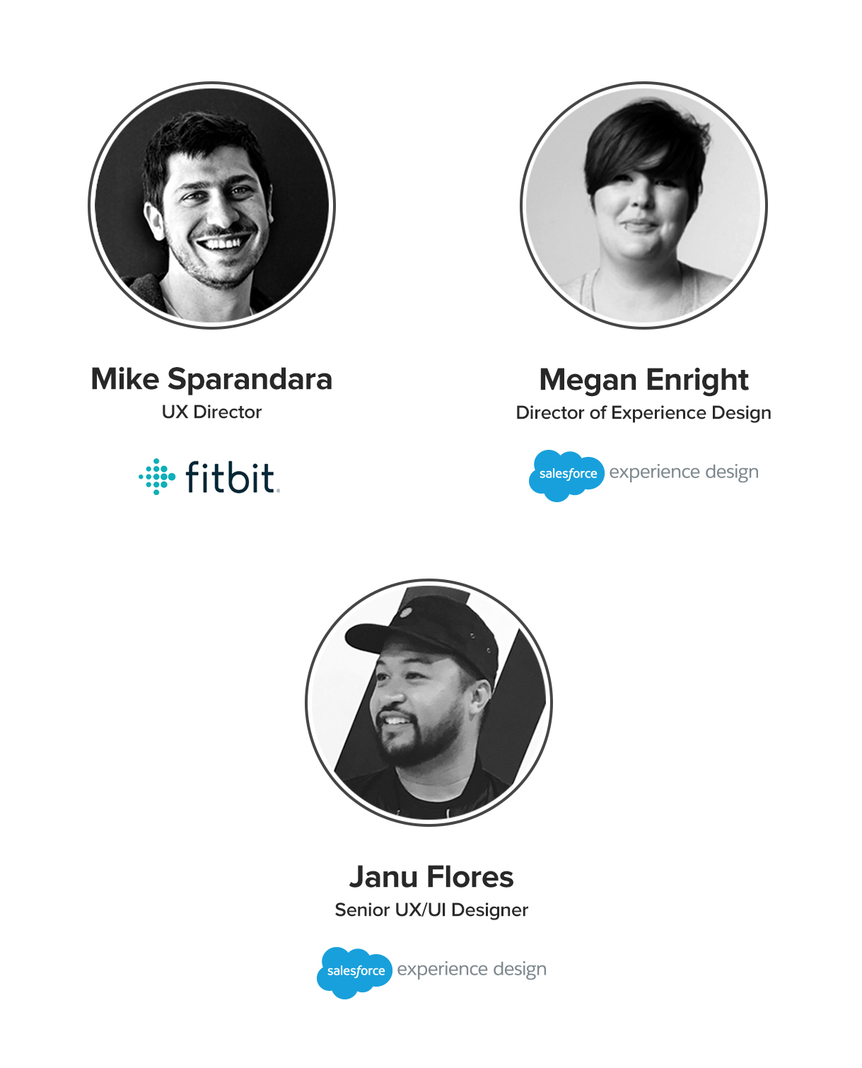 Q and A with designers from Fitbit and Salesforce Experience Design