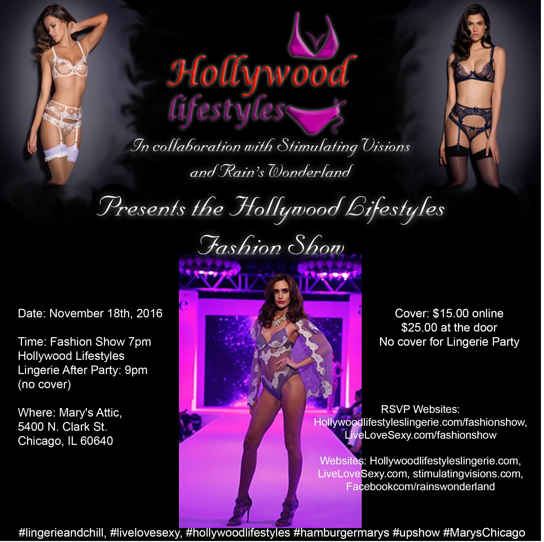 Hollywood Lifestyles Lingerie Fashion Show Tickets, Fri, Nov 18 ...