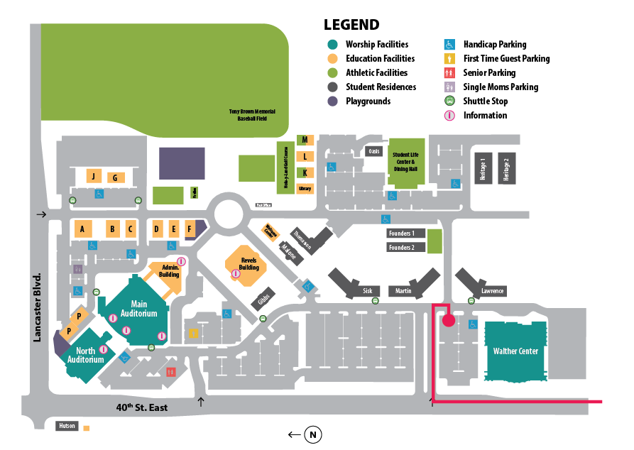 WCBC Campus Map