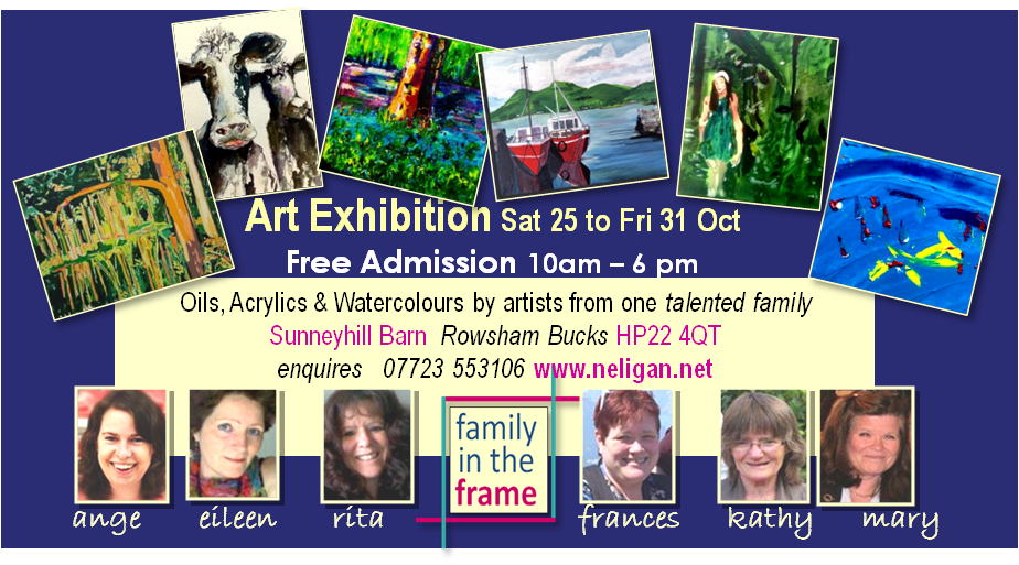 Free Art Exhibition Buckinghamshire October