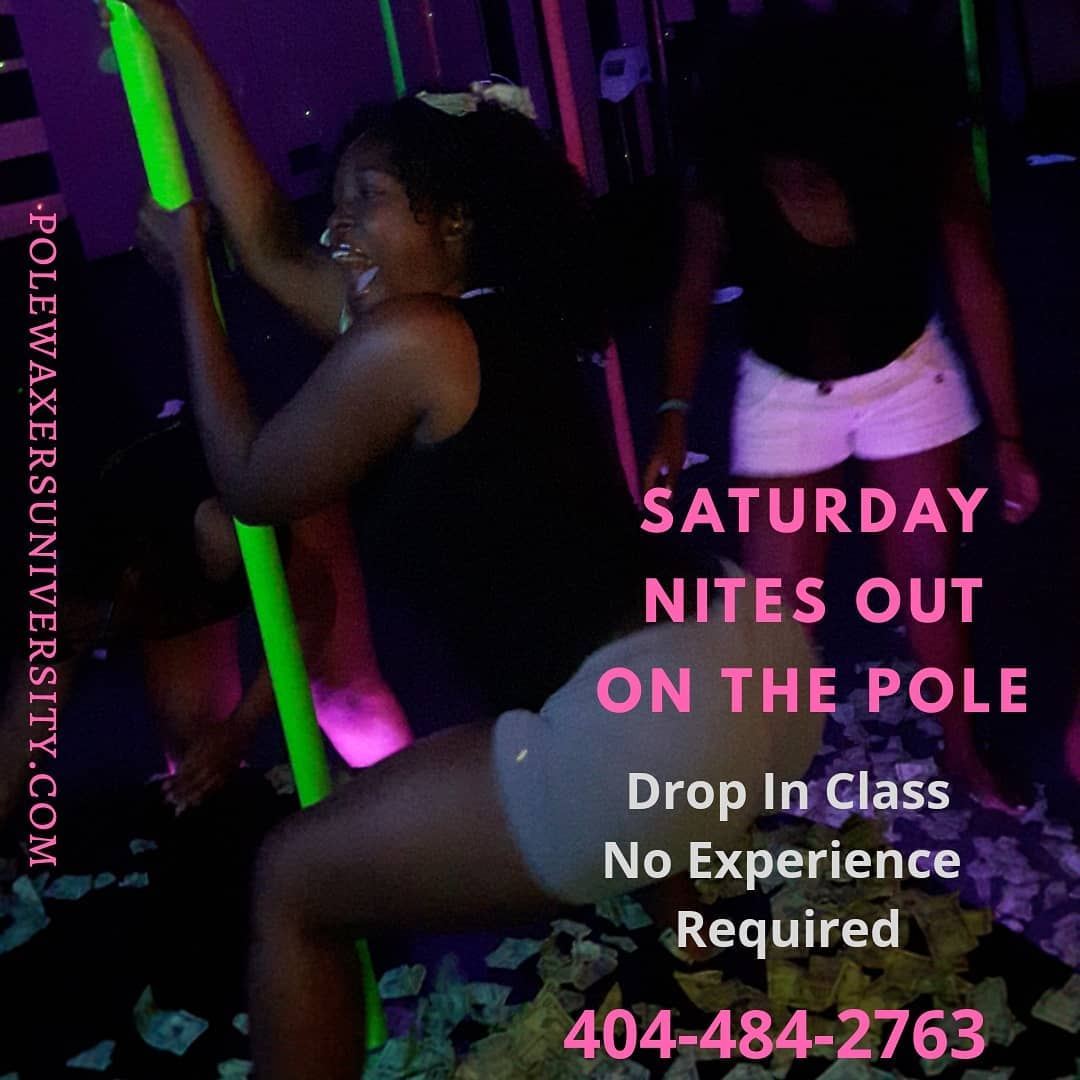 Pole Waxers Girls Night Out On the Pole